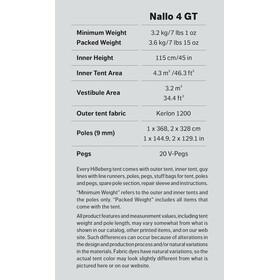 Hilleberg Nallo 4 GT Röd